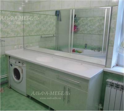 Мебель для ванной комнаты на заказ в Самаре - main