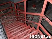 Металлическая лестница для дома и коттеджа - foto 1